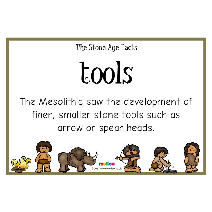 Engage your class with this colourful Stone Age resource, covering a range of fascinating facts!