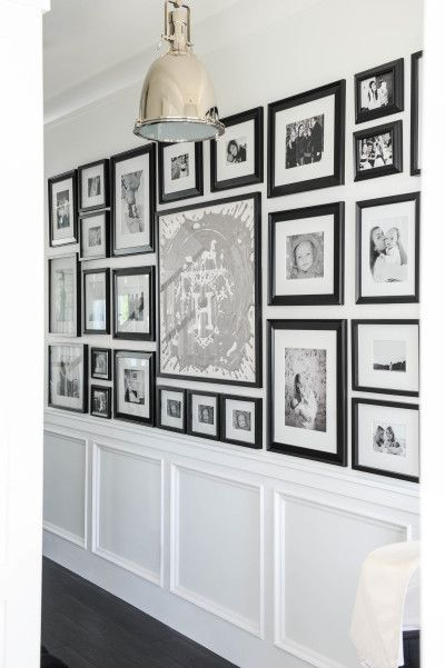 Family photo wall: http://www.stylemepretty.com//living/2016/05/27/not-sure-how-to-decorate-your-hallway-try-these-20-design-solutions/