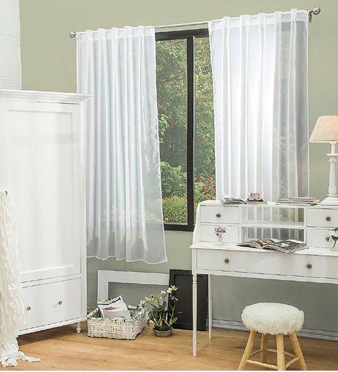 Las 25 mejores ideas sobre cortinas cortas en pinterest y for Cortinas blancas para sala