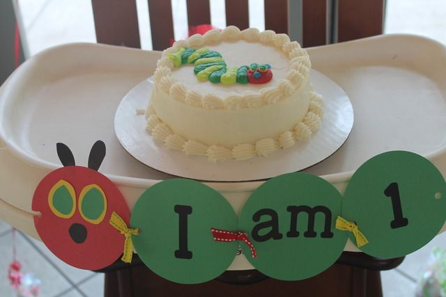 "Photo 1 of 43: The Very Hungry Caterpillar / Birthday ""Ella's first birthday"" | Catch My Party: Hungry Caterpillar Birthday, Catch My Party, Chairs Decor, Birthday Parties Ideas, 1St Birthday, First Birthdays, Birthday Party Ideas, Highchair Decor, High Chairs"