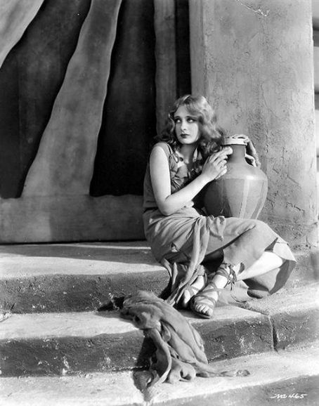 Noir and Chick Flicks: Silent Film Star: Dolores Costello.