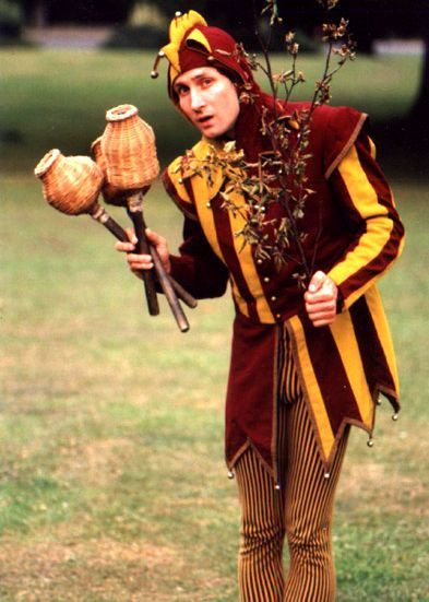 Court jester costume. France 16th century.   World4  Jester Middle Ages Wear