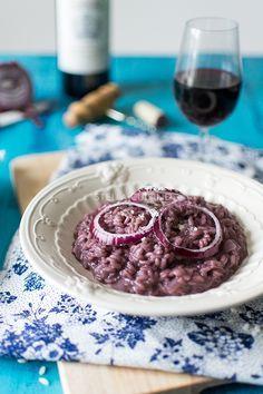 Risotto de vin rouge {Concours Monoprix Gourmet}