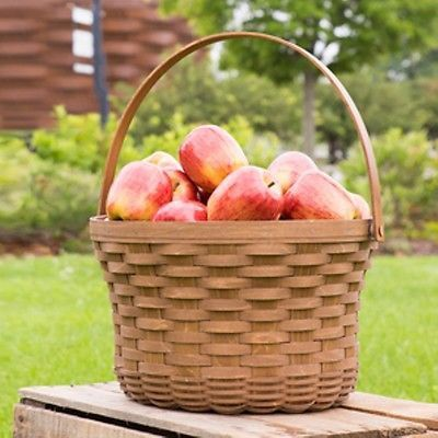 Longaberger Apple Basket Signed - Vintage **NEW**
