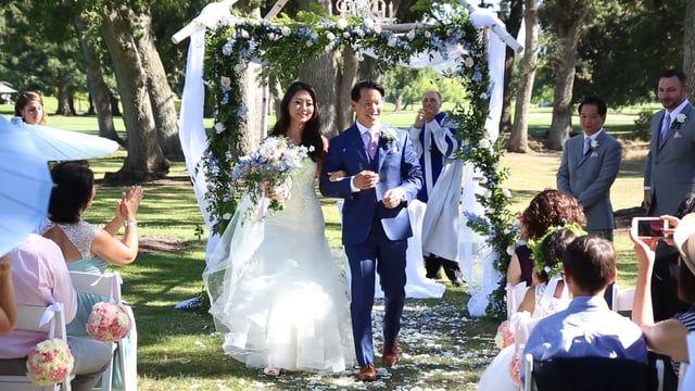 ALLEN & JEHEE — NAPA WEDDING VIDEO AT SILVERADO RESORT, FEATURE FILM BY WEDDINGS ON FILM