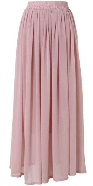 full length pink dusty rose maxi skirt | Mode-sty tznius fashion style hijab muslim islamic mormon lds jewish christian no slit