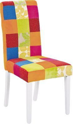 #Unisex #Patchwork #Stuhl #Colours 2er #Set #bunt Bringen Sie den Orient zu sich nach Hause! Das Essstuhl-Set ´´Colours´´ besteht aus zwei individuellen Stühlen im farbenfrohen und lebhaften Patchwork-Design mit verschiedenen Mustern. Die bequeme Polsterung sorgt für einen angenehmen Sitzkomfort. - Stuhlbeine aus massivem Holz Maße: ca. 46 x 58 x 99 cm Material: Massivholz, Textil