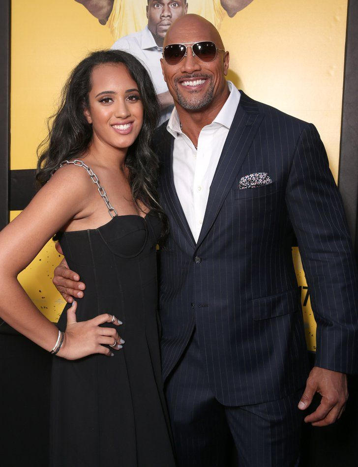 Pin for Later: Dwayne Johnson Is Completely Upstaged by His Beautiful Family on the Red Carpet