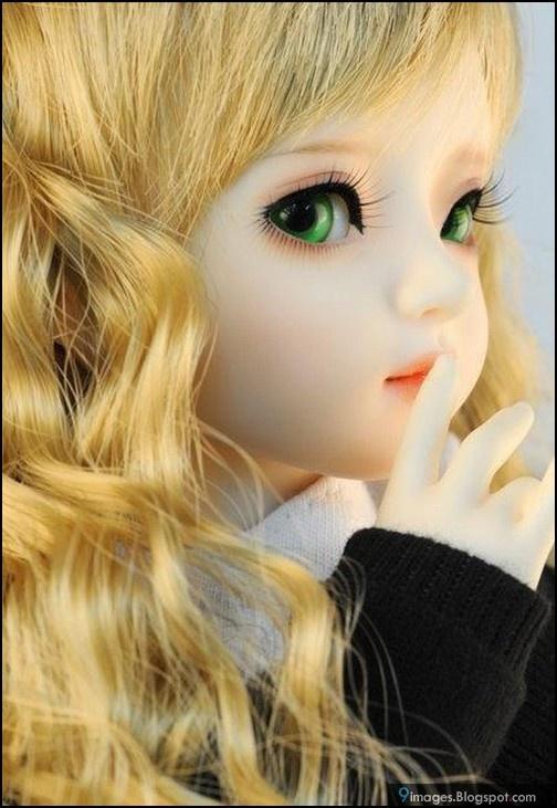 Doll, silent, girl Boneka