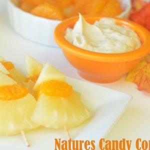 Nature's Candy Corn and Fruit Dip Recipe