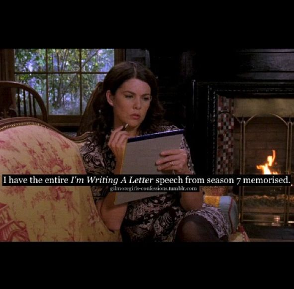 Gilmore Girls Confessions