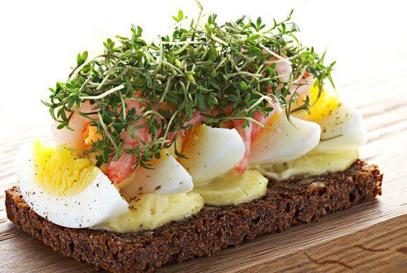 Danish open-face sandwich