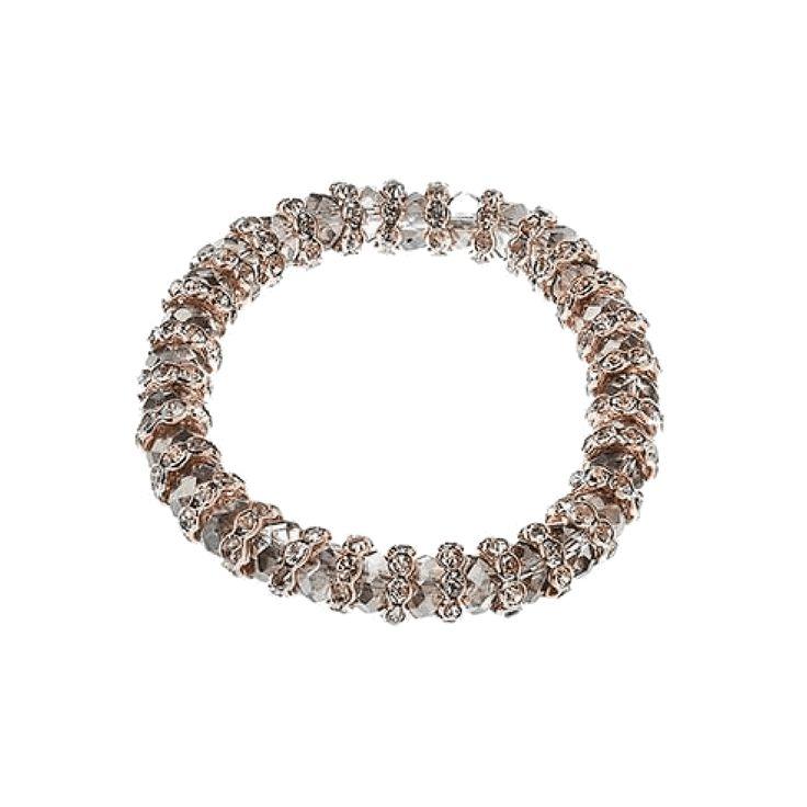 Jeminee #Jewellery Jasmine #RoseGold tone #bracelet with #Stardust #Swarovski Crystal | #Style #Fashion #Gift