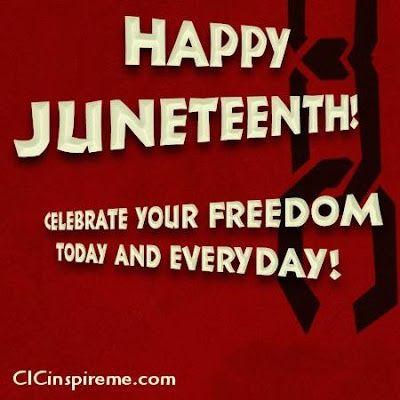 Happy Juneteenth | Happy Juneteenth!