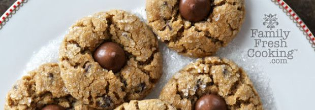 Marla Meridith | Peanut Blossoms Chocolate Chip Cookies