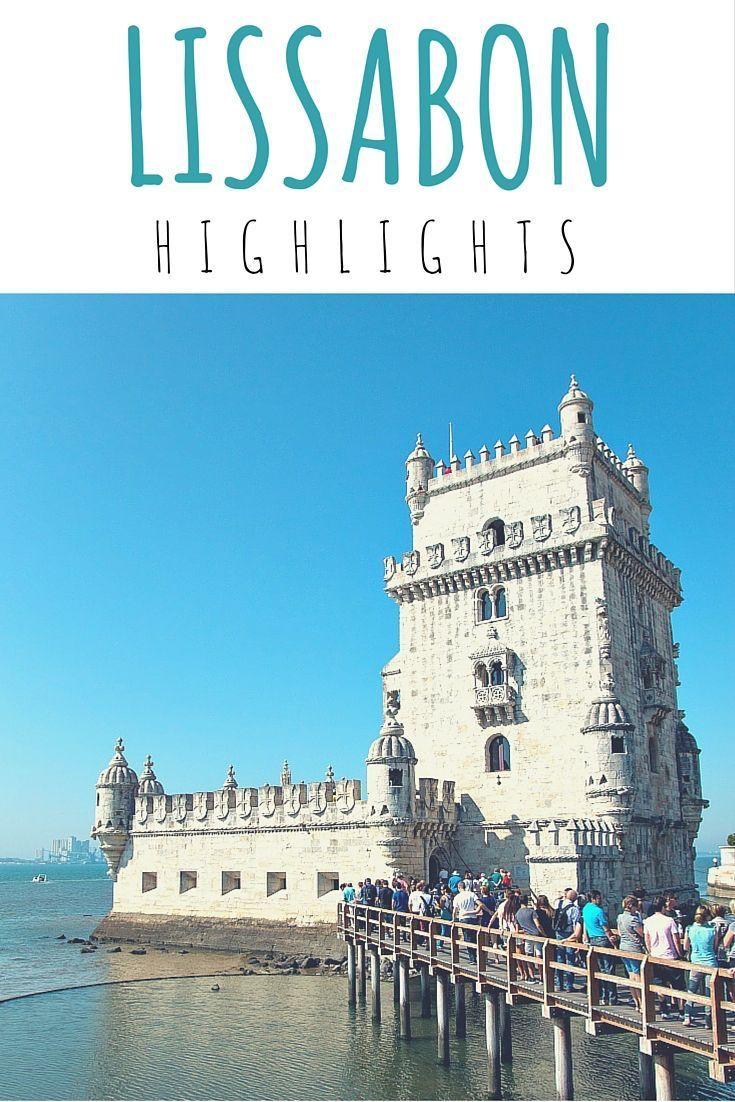 Lissabon Highlights - Blogartikel #TorredeBelem #Lissabon #Portugal #Reise