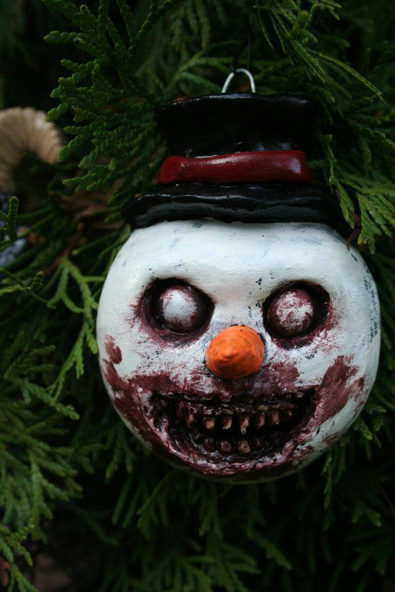 Horror Christmas Ornaments.Pin On Body Paint