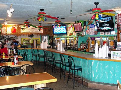 Frosty Frog Cafe; best burgers and frozen daquiris on Hilton Head Island!