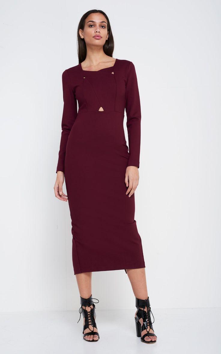 Crossed Detailed Dress port   2