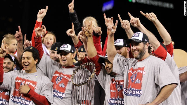 St. Louis Cards win world series!!!!