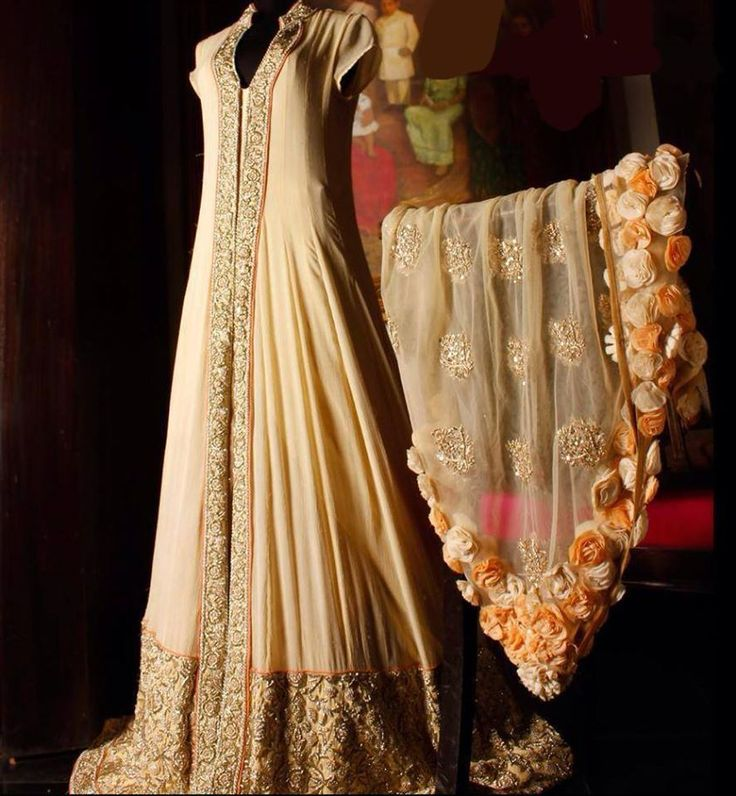 #anarkali I really like the line of this.