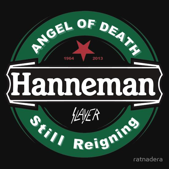 JEFF Hanneman BLACK ANGEL OF DEATH  STILL REIGNING