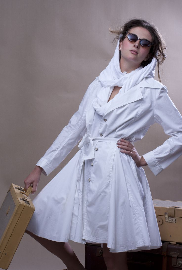 100% cotton Swing Coat/Dress - WEISS Cape Town