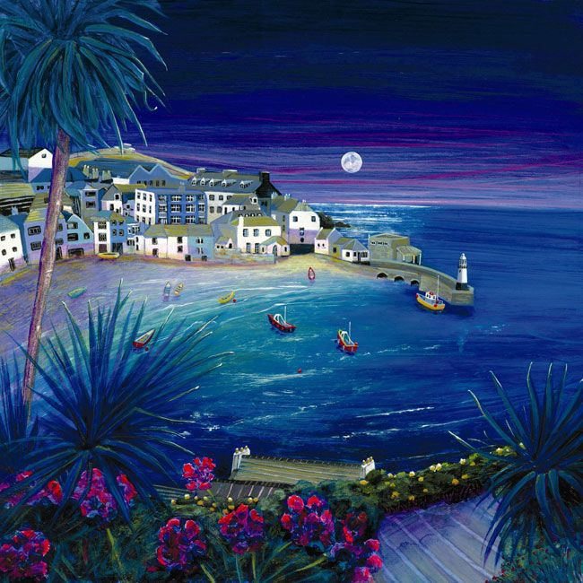 St-Ives-NIGHT. Gilly Johns