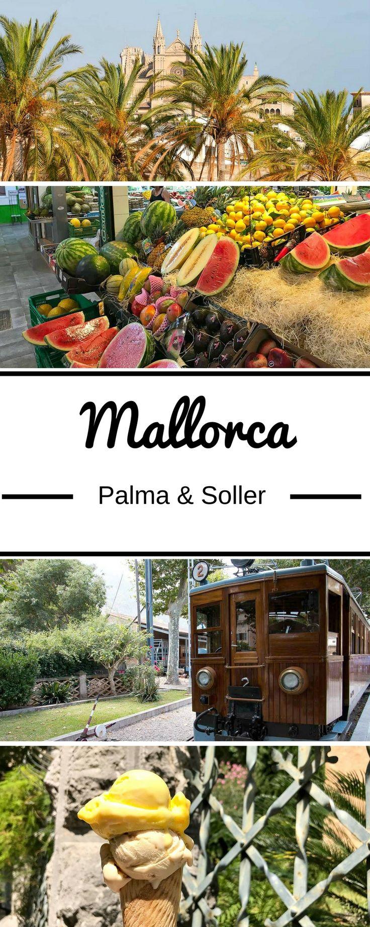Denkst du bei Mallorca direkt an Ballermann und Partys? Ich erlebte die spanische Insel ganz anders: in Palma mit schönen Cafés und Markt, kleinen Gassen, bunten Häusern, einer tollen Strandbar sowie der historischen Eisenbahnfahrt nach Soller. Ich erzähle dir von meinem perfekten Tag zum Nacherleben.