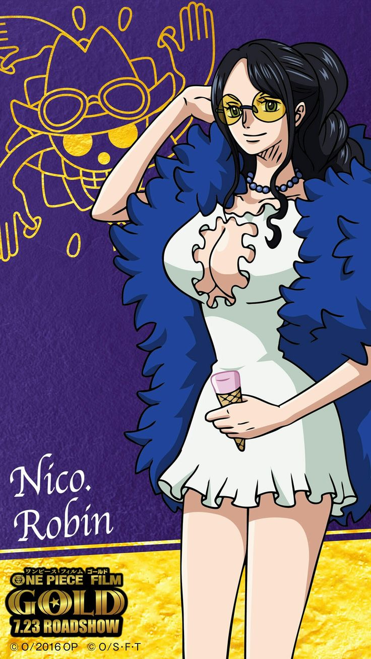 One piece film: GOLD Nico Robin