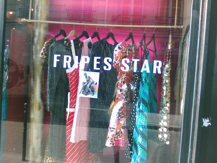 Freep Star Store Window - vintage