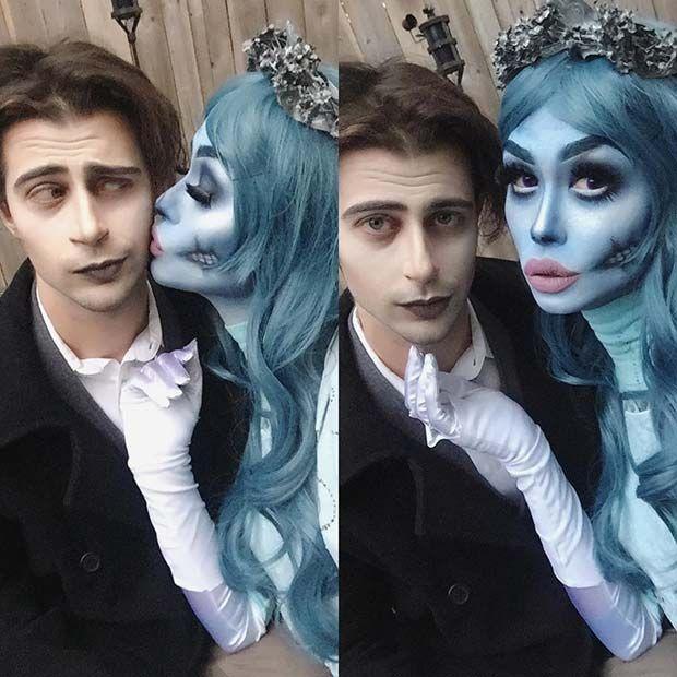 Les 17 meilleures images du tableau halloween 2017 ideas sur pinterest id es de d guisement - Maquillage halloween couple ...