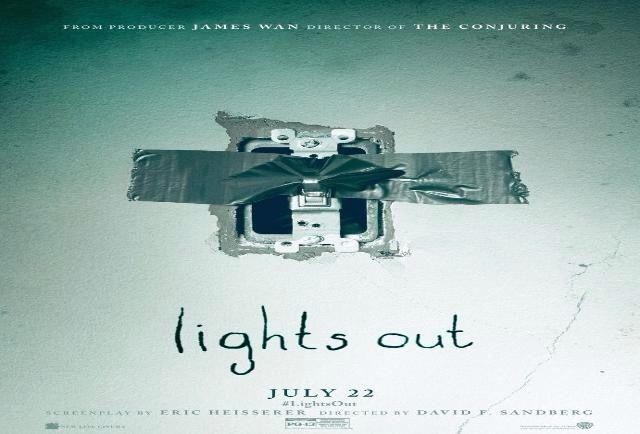 ROBABOB39 HORROR FILM REVIEWS AND NEWS.: Lights Out (2016) Film Review. New Line Cinema, Ra...