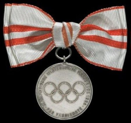 Medal of Merit for the Winter Olympics 1964-for women, Austria. Now on the Colnect catalog @Gail Regan Truax://colnect.com/medals