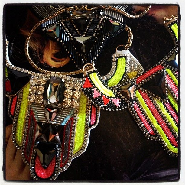 Sneak peek pieces for this weeks shoot #buba #jewellrey  #bubajewellrey #fashion #neon #bright #beautiful #keepthewolf #photoshoot #exciting #picoftheday #cute #glitz #highfashion #igdaily #instagram #instagramhub