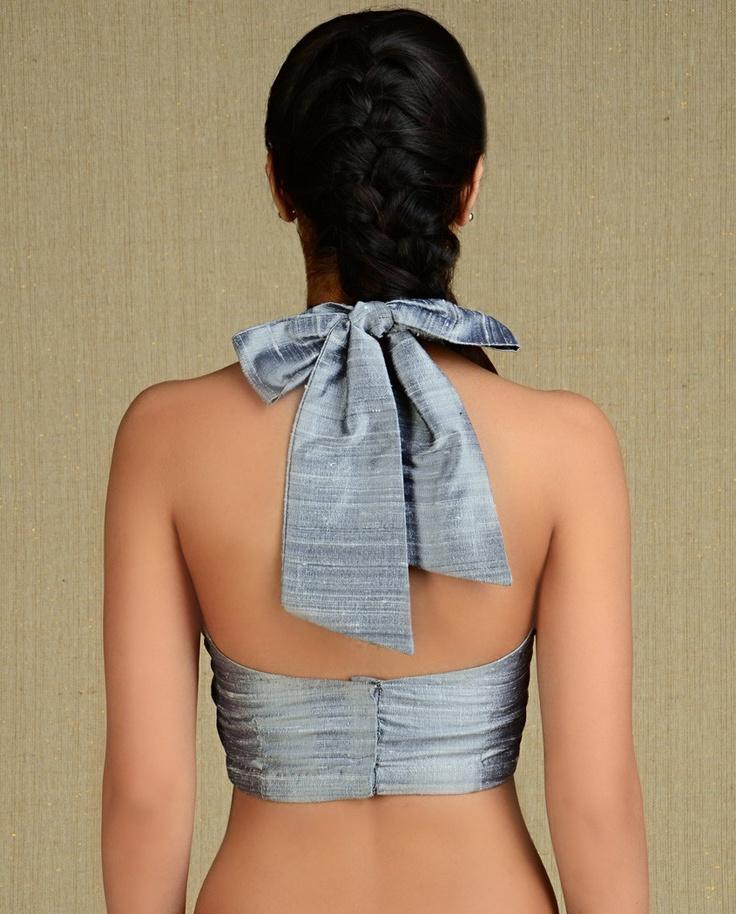 cute sari blouse