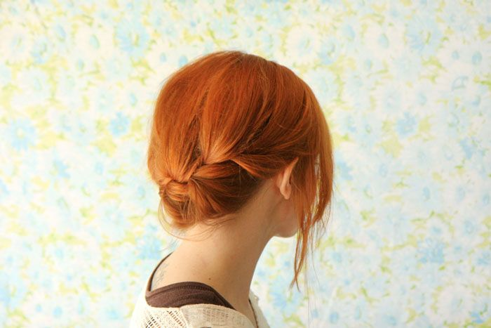 reverse crown braid from a beautiful mess
