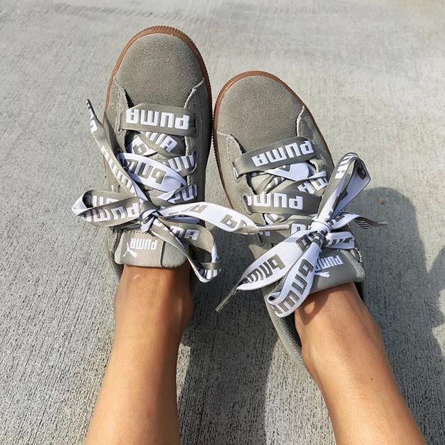 puma puma vikky platform ribbon bold