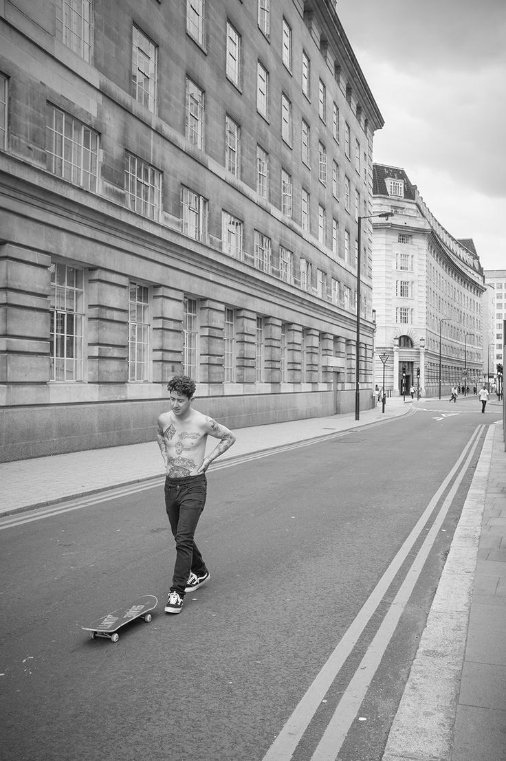 Dustin Dollin rolling through London from the Vans Pro Skate Tour.