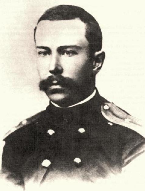 Russian composer Nikolai Rimsky-Korsakov (1844-1908) in 1866, when he was in the Russian Navy.