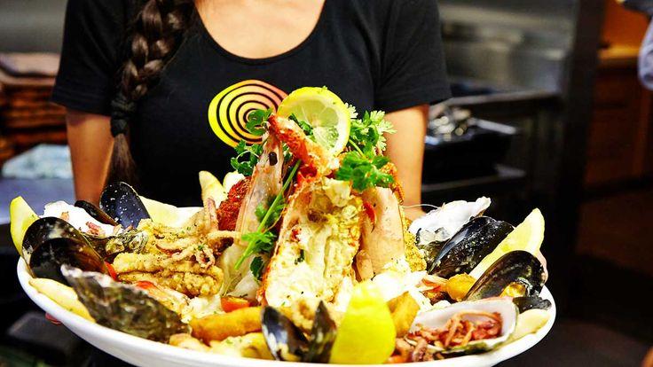 Hurricane's Grill Bondi Beach Seafood Platter
