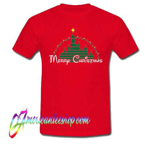 Merry Christmas at the happiest place on earth T Shirt