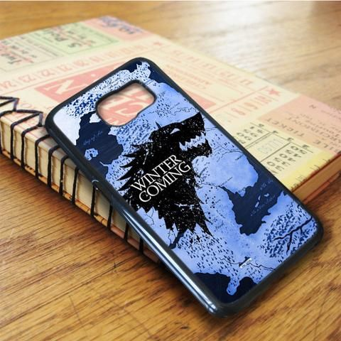 Winter Coming Map Game Of Thrones Samsung Galaxy S6 Edge Plus Case