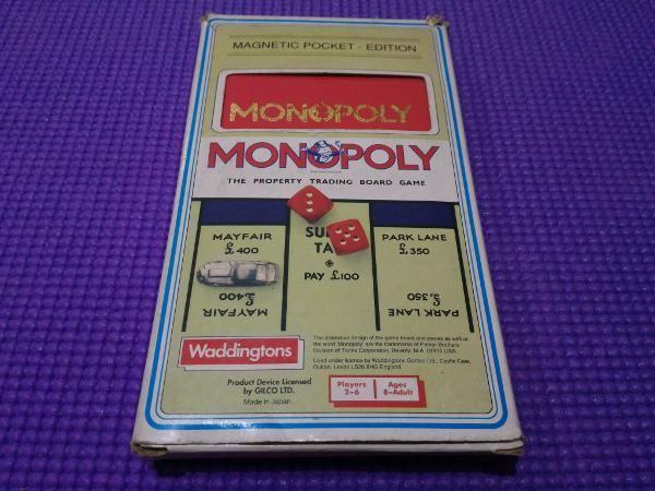 Jual beli Monopoly Magnetic Pocket Editon - Original by Waddingtons di Lapak Mark 2 - co_olz. Menjual Board Games - Monopoly Magnetic Pocket Edition - Original by Waddingtons  Kondisi dan kelengkapan sesuai foto ( lihat foto ).