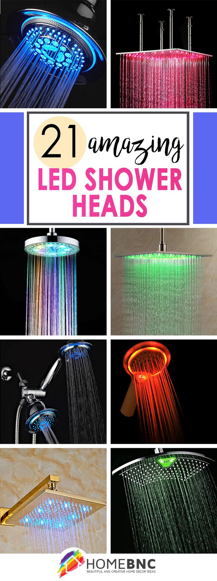 LED Shower Head Ideas