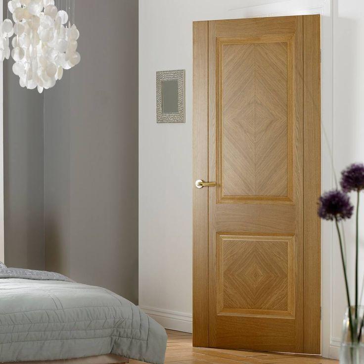 Doors Oak Veneer Colonial 6 Panel Oak Veneer Bifold Interior Door