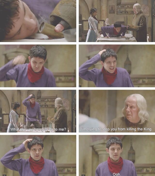 Merlin, Gaius and Gwen. Merlin Season 4