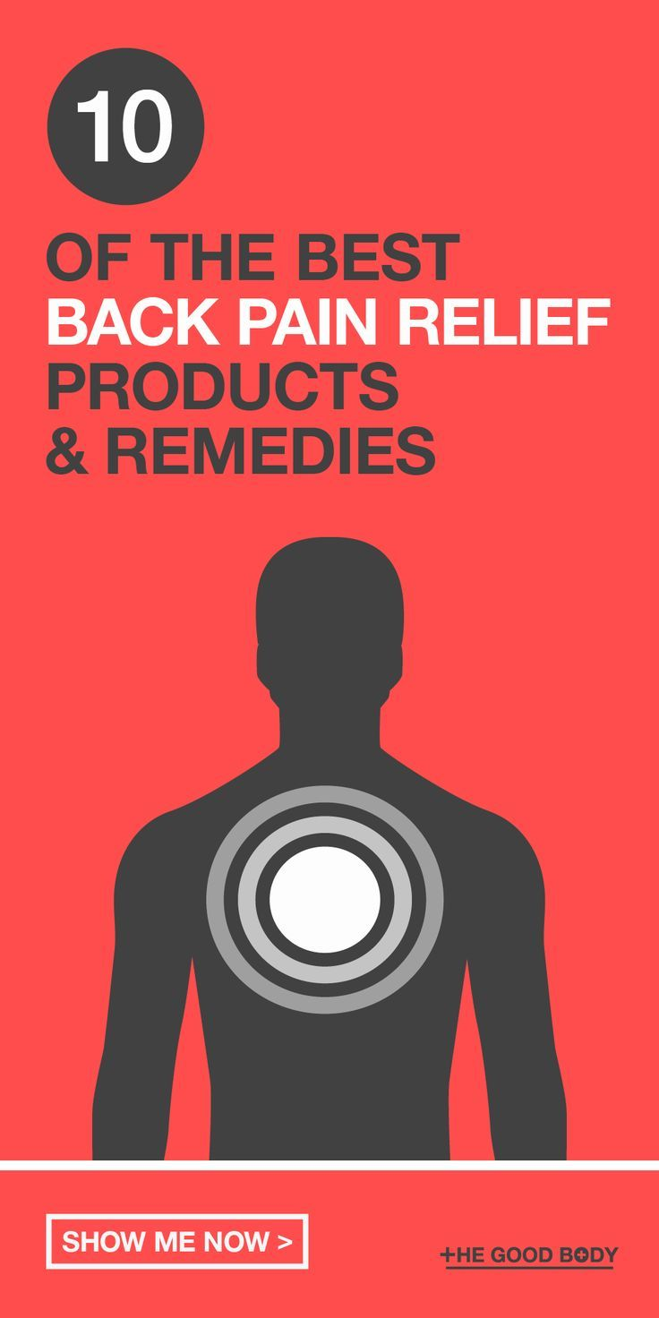 8b26bf25612 Here at The Good Body we've done a little of the hard work for you and put  together our list of 10 of the best back pain relief products and remedies  to ...