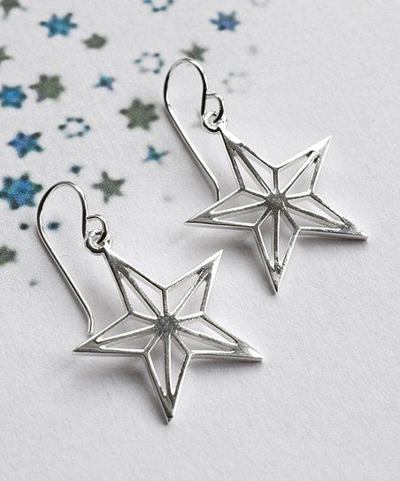 e5e93f60f Martha Jackson Sterling Silver Geometric Stars Drop Earrings | zulily