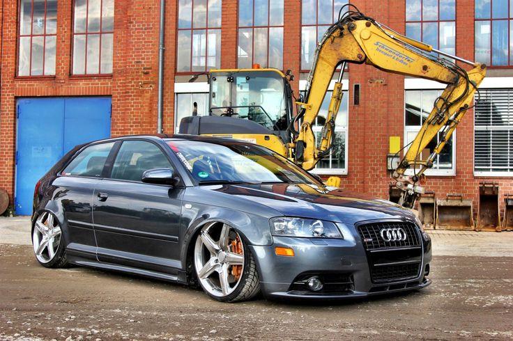 Audi A3 – Hatchback im AMG-Trim  http://www.autotuning.de/audi-a3-hatchback-im-amg-trim/ A3, Airride, AMG Felgen, Audi A3, Audi Tuning News